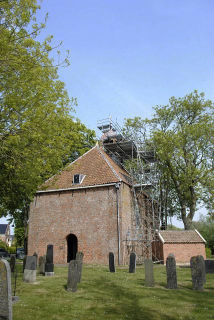Kloosterkerk in de steigers.jpg