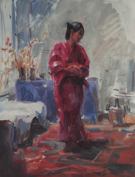 Marcel Duran-model in kimono.jpg